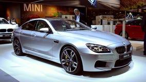 BMW X6 M SUV and 6 Series Gran Coupe sedan stock video