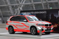 BMW X5 Notarzt (emergency doctor) Stock Photo