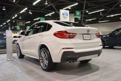 BMW X4 på skärm Arkivfoto