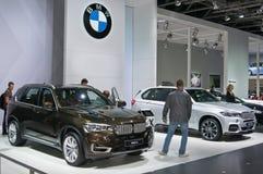 BMW X5 und Ausgabe X5 M Stockfotografie
