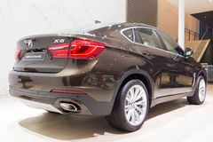 BMW X6 xDrive40d Royalty Free Stock Photos