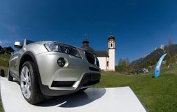 BMW X3 Drive Royalty Free Stock Photos