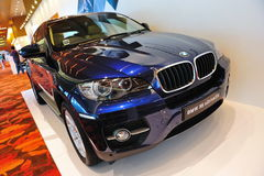 BMW X6 crossover Royalty Free Stock Photo