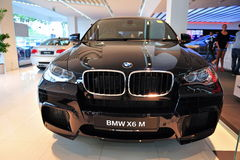 BMW X6 M on display Royalty Free Stock Photography