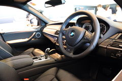 BMW X6 M interior Royalty Free Stock Photos