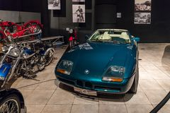 BMW Z1 1991 at the exhibition in the King Abdullah II car museum in Amman, the capital of Jordan. Amman, Jordan, December 07, 2018 : BMW Z1 1991 at the royalty free stock image