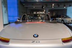BMW Z8 - James Bond lizenzfreie stockbilder
