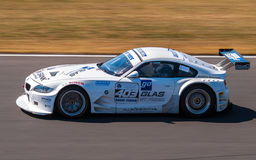 BMW Z4M Coupé race car. Photographed during Histocup event at Slovakia Ring on August 3, 2013 Stock Photos
