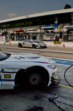 BMW Z4 in Monza Stock Photo