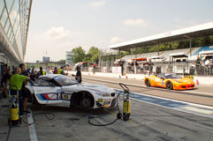 BMW Z4 in Monza Stock Photos
