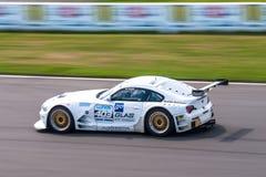 BMW Z4 racing car Stock Photos