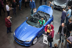 BMW Z4 sports car at the IAA 2015 Royalty Free Stock Photos