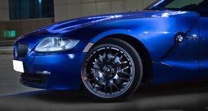 BMW Z4 on the street Stock Photo