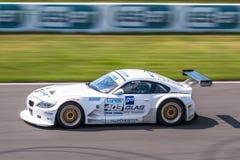 BMW Z4 tävlings- bil Royaltyfri Foto