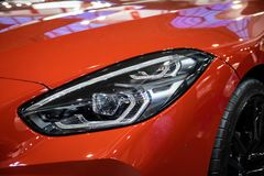 BMW Z4 on 54th Belgrade international car and motor show. stock images