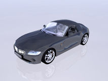 Bmw Z4 2.5 i sportscar. Royalty Free Stock Photography