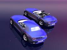 Bmw Z4 2.5 i sportscar. Stock Photo