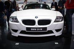 BMW Z4 an der MoskauInternationalausstellung Stockfotografie