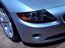 BMW Z4 headlight Stock Images
