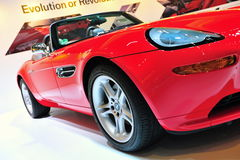 BMW Z8 convertible Royalty Free Stock Photo