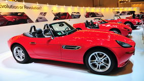 BMW Z8, Z1 und Kabriolett 507 Stockfotos