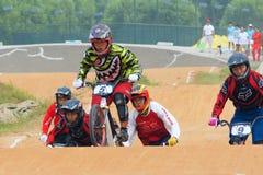 BMX竞争 免版税库存照片