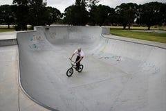 Парк BMX конька стоковое фото rf