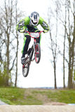 Скачка BMX Стоковая Фотография RF