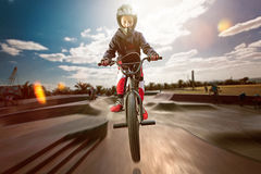 BMX royalty-vrije stock fotografie