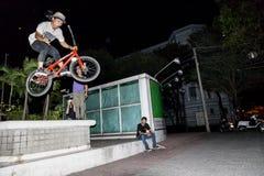 BMX acrobat in Vietnam Stock Images