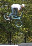 BMX-akrobat Arkivbilder