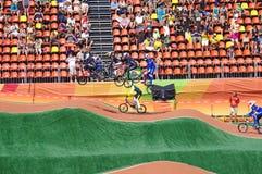 BMX-Athleten stockfoto
