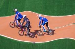 BMX-Athleten stockbilder