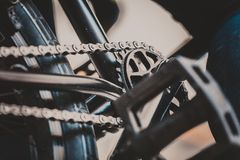 BMX background photography Royalty Free Stock Photo