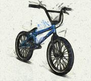 BMX Bicycle Illustration Stock Photography
