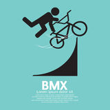 BMX Bicycle Sign Royalty Free Stock Photography