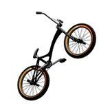 Bmx bicycle. On white background Vector Illustration