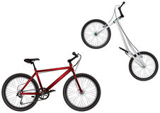 BMX bike, Mountain bike, Extreme Sport Bicycles Royalty Free Stock Image