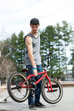 BMX Bike Rider Stock Photos