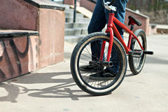 BMX Bike Rider Royalty Free Stock Photos