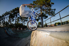 BMX Bike Stunt tap Royalty Free Stock Photos
