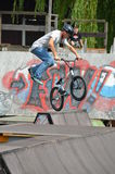 Bmx biker Royalty Free Stock Images