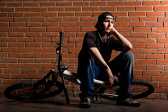 BMX boy Stock Photography