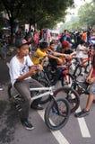 BMX community Stock Images