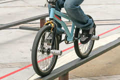 BMX competition Royalty Free Stock Photo