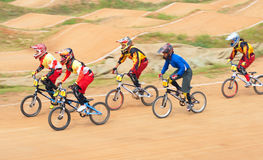 BMX competition Stock Image