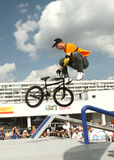 BMX competitions Royalty Free Stock Image