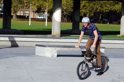 BMX Cycling - Recreation and Sport Royalty Free Stock Photography
