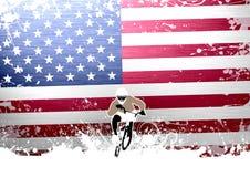 BMX cyclist Stock Photo