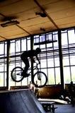 BMX-cykelryttare Arkivbilder